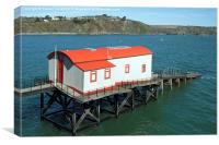 Tenby Lifeboat Station , Canvas Print