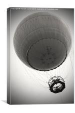 Tethered balloon , Canvas Print
