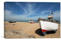 Dungeness Trio, Canvas Print