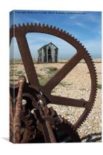 Dungeness Dereliction, Canvas Print