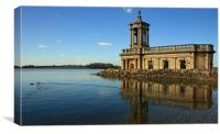 Rutland Water, Canvas Print