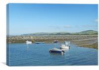 Port William Harbour, Scotland, Canvas Print
