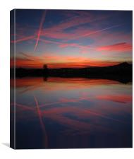 Baviera Sky, Canvas Print