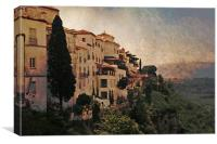 Ronda from the North, Canvas Print