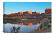 Good Morning Moab, Canvas Print