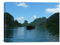 Halong Bay Vietnam, Canvas Print