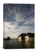 Windward - Norfolk Skies, Canvas Print