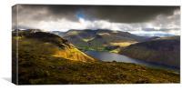Lake District yewbarrow, Canvas Print