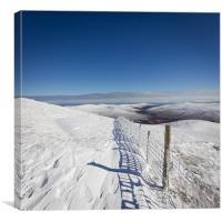 Skiddaw Winter, Canvas Print