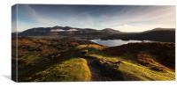 Lake District Sunrise, Canvas Print
