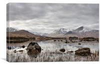 A scottish outlook, Canvas Print