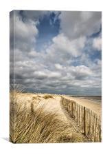 Aldeburgh beach, Canvas Print