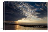 Cloudscape - Cromer Sunset, Canvas Print