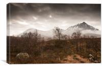 Glen Etive - Scotland, Canvas Print