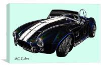 AC Cobra, Canvas Print