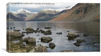 4. Wast Water (Winter), Canvas Print
