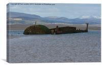2. Anastasi Shipwreck, Canvas Print