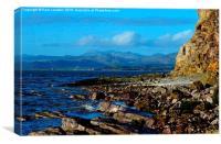 Duddon Bay, Canvas Print
