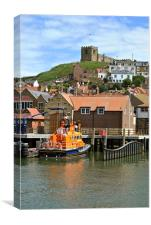 The Whitby Lifeboat, Canvas Print