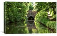 Brandwood Tunnel, Canvas Print