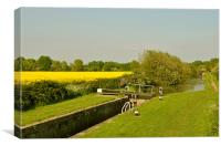 The Aylesbury Arm in Summer, Canvas Print