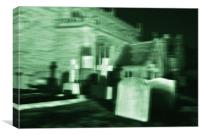 Spooky Church 2, Canvas Print