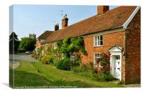 Cottages at Orford, Canvas Print