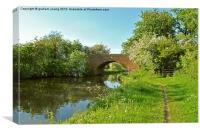 Newhouse Farm Bridge, Canvas Print