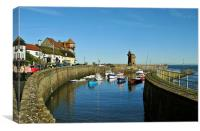 Lynmouth Harbour, Canvas Print