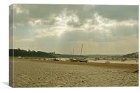 Instow Beach, Canvas Print