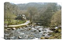 Watersmeet, Canvas Print