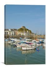 Ilfracombe Harbour, Devon, Canvas Print