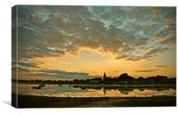 Bosham Sunset, Canvas Print