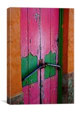 Pink Door, Canvas Print