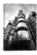 Lloyds Building, Canvas Print