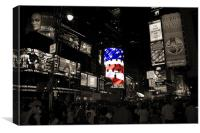Time Square, Canvas Print