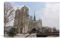 Notre Dame, Canvas Print