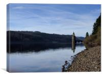 Lake Vyrnwy, Canvas Print
