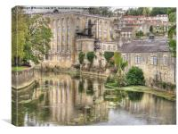 Bradford-on-Avon, Canvas Print