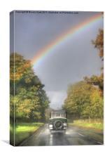 Beardmore Taxi, Canvas Print