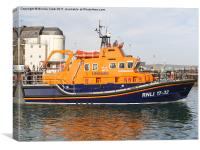 RNLI Lifeboat, Canvas Print