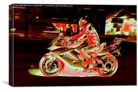Honda VFR, Canvas Print