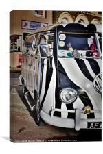 Volkswagen Camper Van, Canvas Print