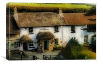 The Smugglers Inn, Canvas Print