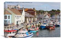 Fishing Boats, Canvas Print