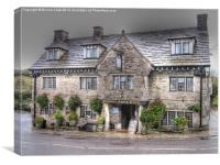 The Bankes Arms Hotel, Canvas Print