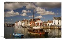 Weymouth Harbour UK, Canvas Print