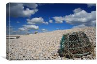 Lobster Pot, Canvas Print