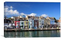 Weymouth Old Harbour Dorset, Canvas Print