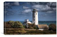 Portland Bill Lower Old Lighthouse, Canvas Print